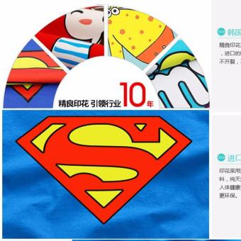 (1PC Price Dad)Superman Family Matching Outfits Mother Daughter Men Women Girls Boys T-Shirt Top Tee Clothes Clothing - intl - 5