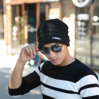2017 Fashion Bonnet Gorros Caps For Men Women Thick Winter BeanieMen Knitted Hat Warm Skullies & Beanies 2017 new free sipping -intl - 4