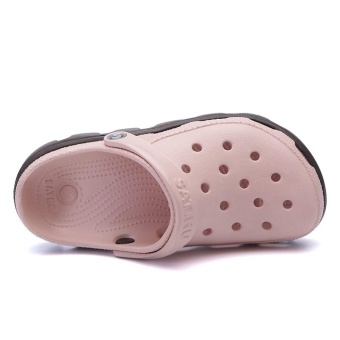 2017 Fashion Outdoor Beach Footwear Man Summer Casual Water ShoesHommes Sandales Hollow Jelly Croc Women Mule Clogs Massage SlipperFor Couples Plus Size 45 46 47 - intl - 3