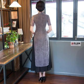 2017 new aodai cheongsam dress Maxi Dresses Formal Dress - intl - 4