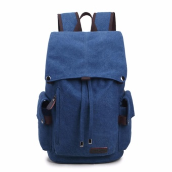 2017 New Fashion Backpacks Canvas Women Backpack School Bag for Teenagers Ladies Girl Back Pack Bagpack Mochila - intl - 2