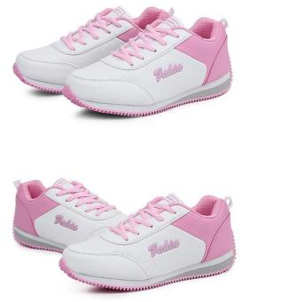 2017 spring new casual shoes flat fashion sneakers for girls -white- intl - 3