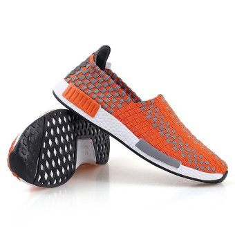 2017 Summer Fashion Breathe Jant Or Lady Woven Shoes Leisure FlatRunning Sneaker - intl - 4
