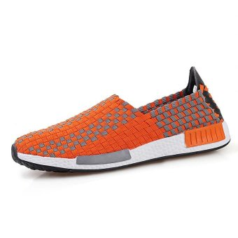 2017 Summer Fashion Breathe Jant Or Lady Woven Shoes Leisure FlatRunning Sneaker - intl - 5