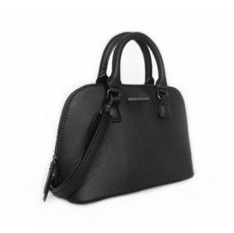 2017 the new handbag Single shoulder bag cross grain small seashells bag -black - intl
