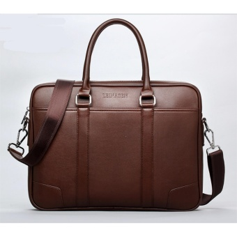 92479ce7532b top fashion simple famous brbusiness men briefcase bag leather laptop bag  casual man bag shoulder bags