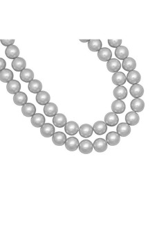 230pcs Round Glass Pearl Spacer Beads 3x3x3mm Light Gray