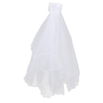 2T Wedding Veil (White)