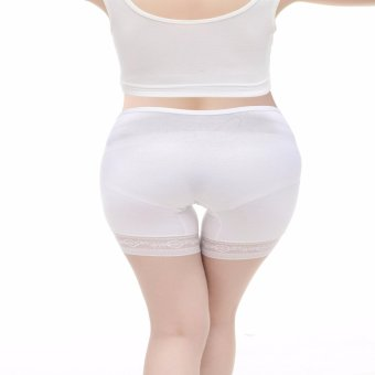 [3 Pcs]Women's Under the Bump Lace Cotton Maternity PantiesPregnance Underwear Multi Pack - intl - 4
