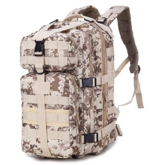 35L MOLLE Military Tactical Assault Pack Backpack Army Molle Waterproof Bug Out Bag Small Rucksack for Outdoor Hiking Camping-camouflage01 - intl