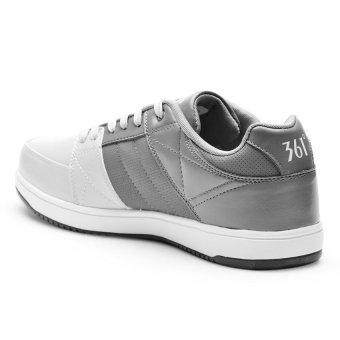 361 Degrees Free Rider Skateboarding Shoes (Light Grey/Dark Grey) - picture 2