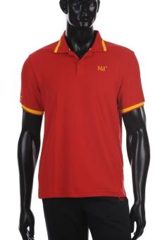 361 Degrees Team Spain Polo Shirt (Red/Yellow)