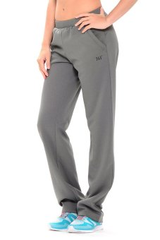 361 Degrees Tennis Knitted Pants (Medium Grey)