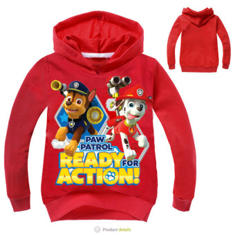 'Paw Patrol 3-10 Years Old 95-135cm Hight Boy or Girls'' Long-sleeved Cardigan Sweaters(Color:Blue)' - 4