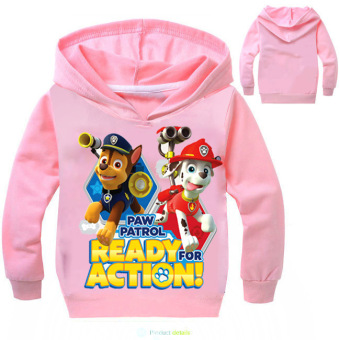 'Paw Patrol 3-10 Years Old 95-135cm Hight Boy or Girls'' Long-sleeved Cardigan Sweaters(Color:Blue)' - 5