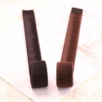 3pcs Women Hair Bun Maker Donut Hair Styling Accessories Tools -intl - 5