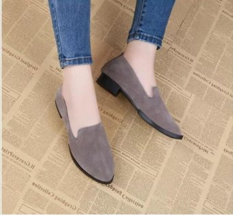 666 fashionable suede grind arenaceous for women's shoes - intl - 3