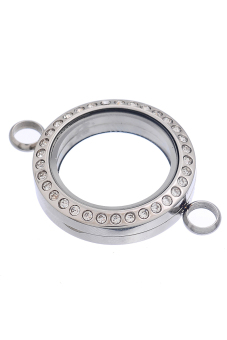 8YEARS B82260 Floating Locket (Silver)