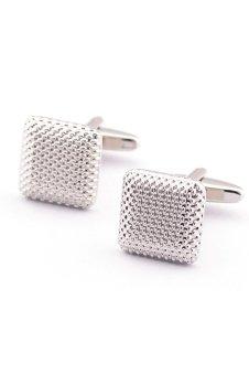 8YEARS B87042 Cufflinks (Pale silver)