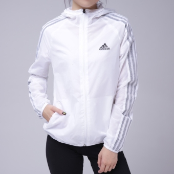 Adidas female winter New style sports pants jacket casual hooded jacket (CF3871/coat)