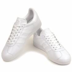 ADIDAS GAZELLE BB5498 Men\u0027s Shoes (FTWWHT/FTWWHT/GOLDMT)