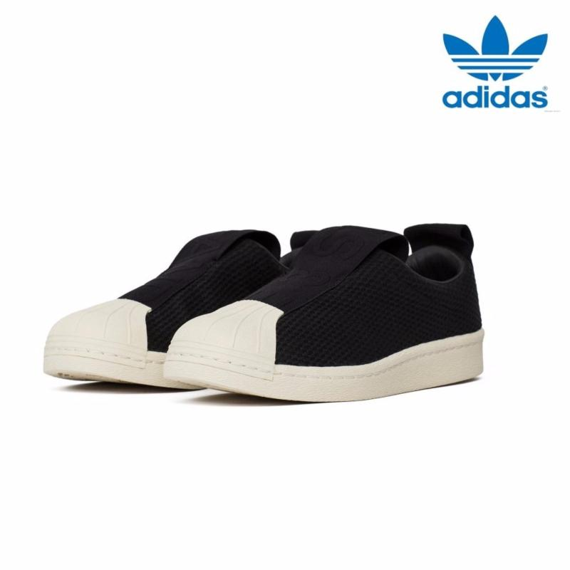 super popular ad0d6 5e1ab Adidas_New Originals Superstar_ BW3S Slip-On Shoes BY9137 Core Black - intl