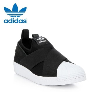 Adidas Originals Superstar Slip-on Shoes S81337 Black/White Express - intl - 5