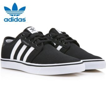 Adidas Originals Unisex Skateboarding Seeley Sneakers F37427 Black/White - intl - 2
