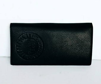 Adventure Levi Men's Long Wallet (Black) - 2