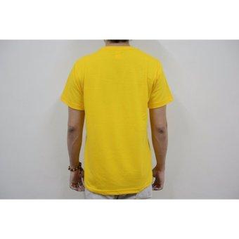 AIIZ UNISEX Plain T-Shirt (Yellow) - 5