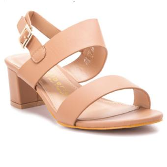 Alberto Open Toe Heeled Sandals (Nude) Price Philippines