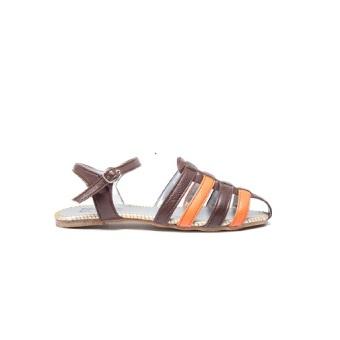 Aloha Woven Sandals D.Brown - 3