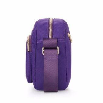 American Tourister Vicinity FM II Horizontal Shoulder Bag S (Purple) - 4