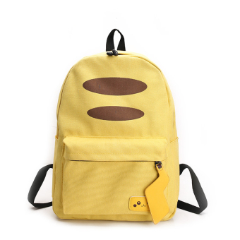 Anime peripheral Japanese-style Pikachu soft travel backpack school bag