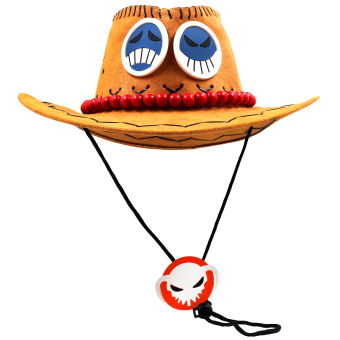 ANIME ZONE One Piece Fire Fist Portgas D. Ace Fashionable Cosplay Hat - 2