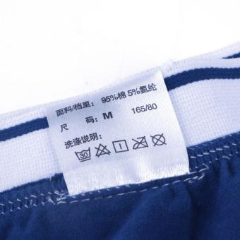 ARNO 5-Pack Men's Boxer Briefs Cotton Underwear Classic Solid Boxer - intl - 2