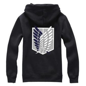 Attack on Titan Survey Corp Wing of Freedom Cosplay Parka Thermal Jacket - intl - 2