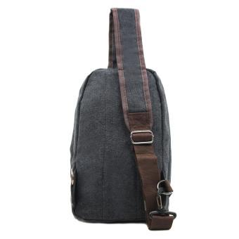 Attraxion Brendon - 9129 Sling Crossbody Bag for Men (Black) - 3