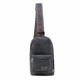 Attraxion Brendon - 9129 Sling Crossbody Bag for Men (Black) - 2
