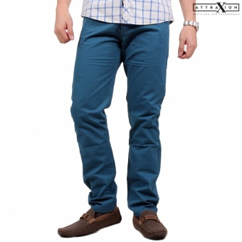 Attraxion Men's Skinny Jeans Herriot (Ocean Blue)