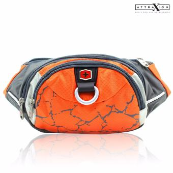 Attraxion Swiss Gear - SA0816 Waist Belt Bag for Men (Orange) Price Philippines