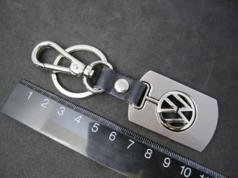 Automobile vw logo badge emblem mark 3D key ring chain keyringkeychain VW accessories metal auto car logo 4s gift - intl - 2