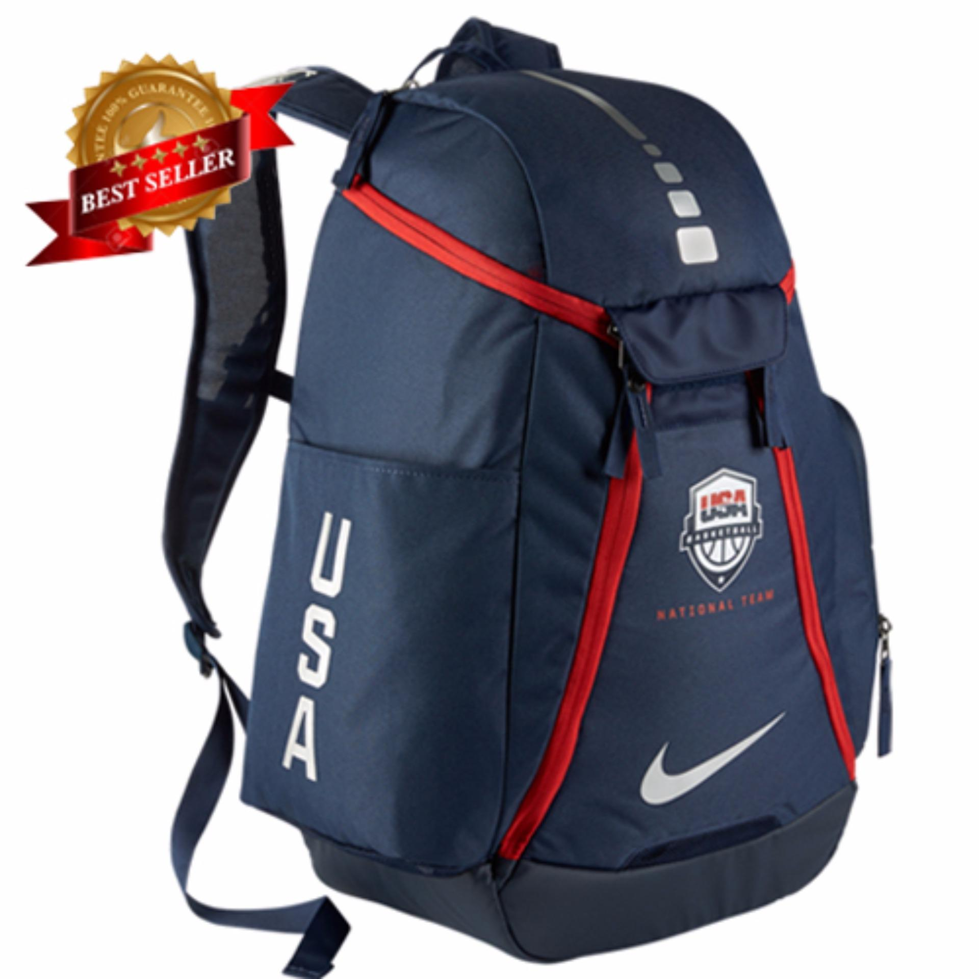 Nike Hoops Elite Max Air Team Backpack University Red| Perú