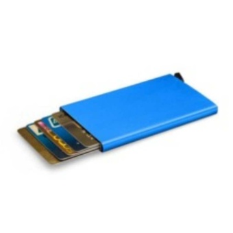 Bank Credit Card Package Card Holder Business Card Case Card Box(Blue)