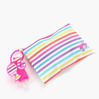 Barbie Girls Pouch and Hand Sanitizer Set (Multi-colored)