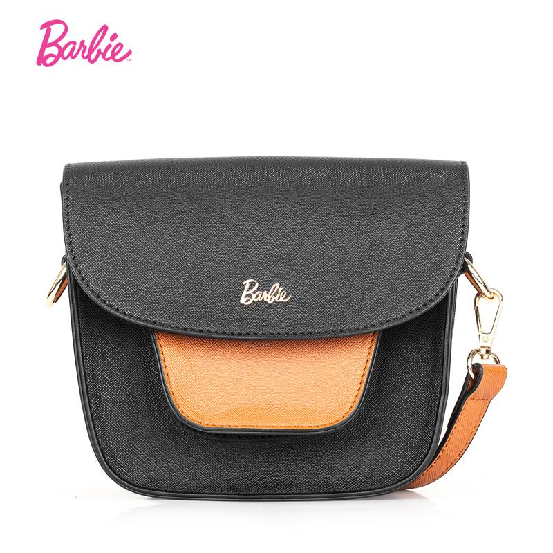 Barbie retro style small and contrasting color messenger bag small bag women's bag