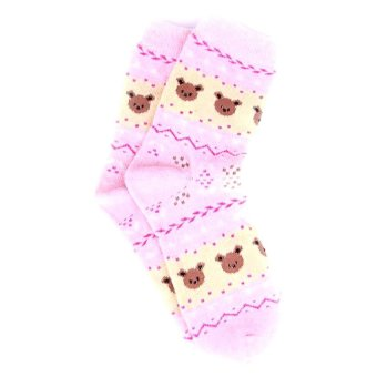 Be Fab! Koala Cotton Socks (Pink)