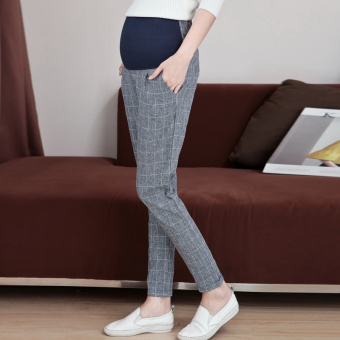Belly Maternity High Waist Cotton Pants