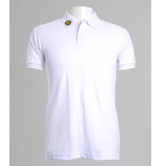 BENCH- BIX0242WH3 Solid Polo Shirt (White) - 2