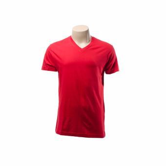 BENCH- BUC0079RE3 Plain Shirt (Red) - 2
